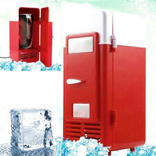 Summer Mini USB Refrigerator Fridge Beverage Drink Cans Cooler Warmer Office