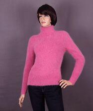 Angora Damen Pullover, Farbe  altrosa und Größe S oder M (nach Wahl).