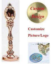 Custom Wax Seal Stamp Personalized Picture Logo Monogram Wedding Sealing Stamp