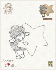 Nellie's Choice Clear stamps Little Lammy lammy with star SCLOLA006