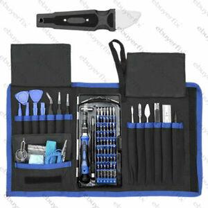 ACENIX® Professional Mobile Phone Repair Screwdriver Pry Tools Kit Bag 80 in 1