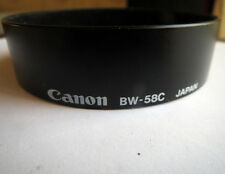 CANON BW-58C LENSHOOD FOR FD 28-55 mm LENS.