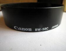 CANON BW-58C LENSHOOD FOR FD 28-55 mm LENS