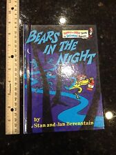 "Berenstain Bears in the night Dr Seuss Book Hardcover 3 6.25"" x 8.75"""