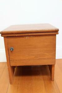 Antique chamber potty cupboard - SE MELB pickup