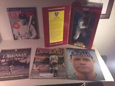 "Babe Ruth Bambino Lot 12"" Figure & 4 Magazines New York Yankees MLB Baseball"