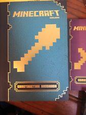 Minecraft Construction Handbook Official Mojang Book Chapter Lot More CMbN SHPNG