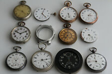 BIG Pocket Watch LOT: Walth Orta Unitas CYMA  Zenith Chronometer & More