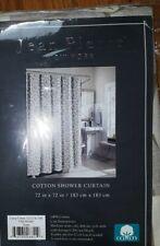 Jean Pierre Lenox Cotton Shower Curtain