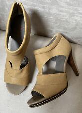 New Levity Leather Sandal Heels 8