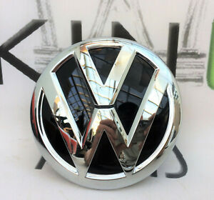 VW POLO 6C MK5 FACELIFT 2014-16 A5 GP FRONT GRILLE BADGE LOGO GENUINE 6C0853600