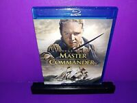 Master and Commander: The Far Side of the World (Blu-ray Disc, 2008) No Digital