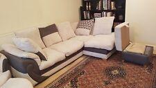 Dfs corner sofa + Swiveling Armchair