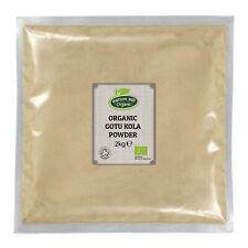 Organic Gotu Kola Powder 2kg Certified Organic