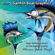 Sailfish Graphics - set of 600mm Boat Graphics