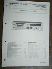 Blaupunkt Service Manual Stereo Cassette Deck C-150  7629170