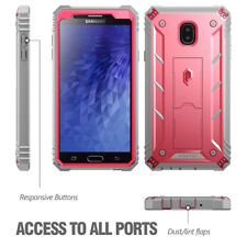 Poetic Revolution【Built-in-Screen Protector】Samsung Galaxy J7 Refine Case Pink