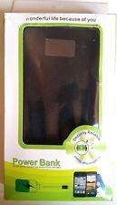 100 000mah Portable Solar Power Bank Dual USB Backup Battery Universal Charger