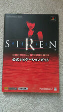 Siren Strategy Guide - Sony PlayStation 2 - Japanese