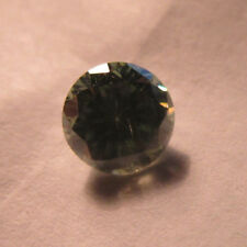 0.87 ct 6 MM ROUND CUT GREEN COLOR LOOSE LAB CREATED MOISSANITE RETAIL 500$