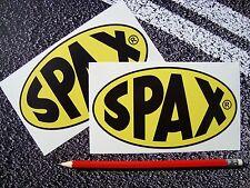 SPAX Shock Absorbers  Stickers Suspension Modify Clio Corsa drift jdm motorsport