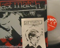 LAST MATCH - 1997-1999 ~ CLEAR VINYL LP + BOOKLET