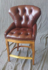 Hancock and Moore Franklin Tufted Bar Stool Set of 3