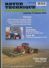 (3B)REVUE TECHNIQUE MACHINISME AGRICOLE TRACTEUR CASE IH / CUMMINS / FORD