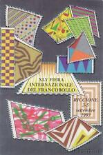 * RICCIONE - XLV Fiera Internazionale del Francobollo 1993