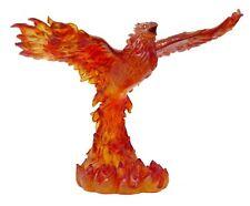 LARGE TOM WOOD FANTASY PHOENIX IN FIRE SOARING BEAUTIFUL  STATUE