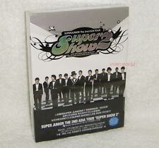 Super Junior The 2nd Asia Tour Super Show 2 Taiwan 2-DVD+82P (second Live)