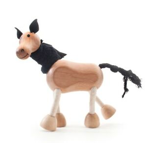 ANAMALZ HO2010: Horse, Collectable Wooden Toy NEW