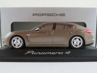 Minichamps/Porsche WAP02000319 Porsche Panamera 4 in topasbraun 1:43 NEU/OVP