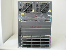 Cisco Switch WS-C4510R + 2 x WS-X4516-10GE + 4x WS-X4548-GB-RJ45V  10 GB uplink