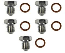 For Audi Seat VW Set of 5 Oil Drain Plugs Standard M14-1.50 Head Size 19mm