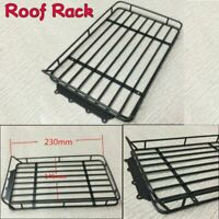 Metal Roof Rack Basket Tray for 1/10 RC Traxxas Trx4 Bronco Axial Scx10 Truck
