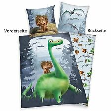 Bed cover Arlo and Spot, Cushion cover 80 x 80 Duvet cover 135 x 200, Dinosaur