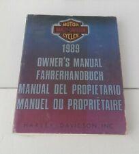 Harley Davidson FLTC FLHTC FLHS FLST XLH 1989 Fahrerhandbuch original