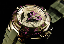 Invicta Violet Excursion Master Calendar SWISS MADE Chronograph Gunmetal Watch