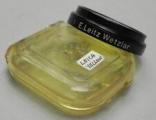 Leica E.Leitz.N.Y. A-36 Black Rim Yellow no.1 Filter #1