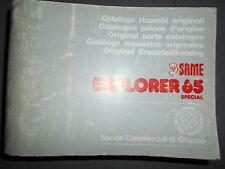 Same EXPLORER 65 Special 1985 : catalogue de pièces