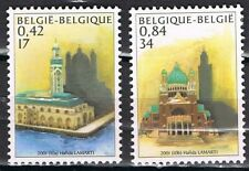 Joint Issue 2001 België 3052-3053 Marokko 1382-1383 moskee / basiliek CW € 5,80