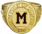 1935 Montreal Maroons Molson Hockey Replica Ring NHL Stanley Cup Great Item