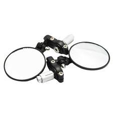 "7/8"" Handle Bar End Rearview Mirrors For Yamaha YZF R1 R6 R6S FZ1 XS XJ FJR FZR"