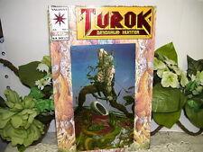 VALIANT COMIC BOOK TUROK DINOSAUR HUNTER VOL 1 NO 1 COVER ART CAPCOM 1992