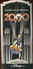 RARE OLD Disney Pin Countdown to the Millennium Series #29 Tron 1982 NEW CARD