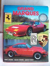 Grand Marques by Niki Lauda Alan Jones Jacky Ickx 1984 HC DC Book