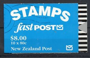 NEW ZEALAND STAMP BOOKLET 1992 $8 10 X NEW ZEALAND FALCON MINT NEVER HINGED