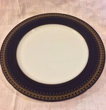 Royal Romanov Genuine Cobalt Blue Two Dessert Plates  6 1/2""