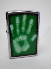 Zippo stampa della mano di identità - Bicromato potassio compleanno - #1037